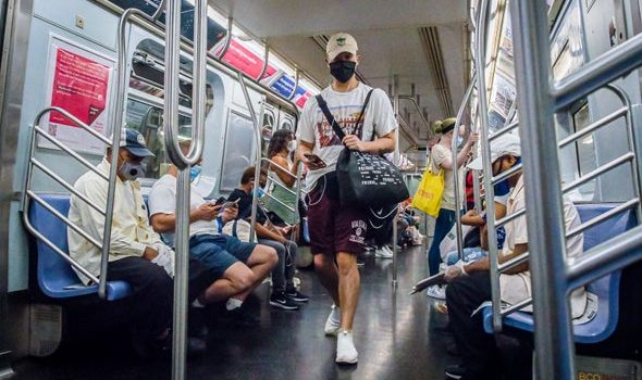 Public Transit Virus Risks - Scientific American