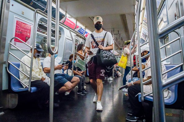 AltPPE.net Sis. Lasher Comments on: There Is Little Evidence That Mass Transit Poses a Risk of Coronavirus Outbreaks - Scientific American